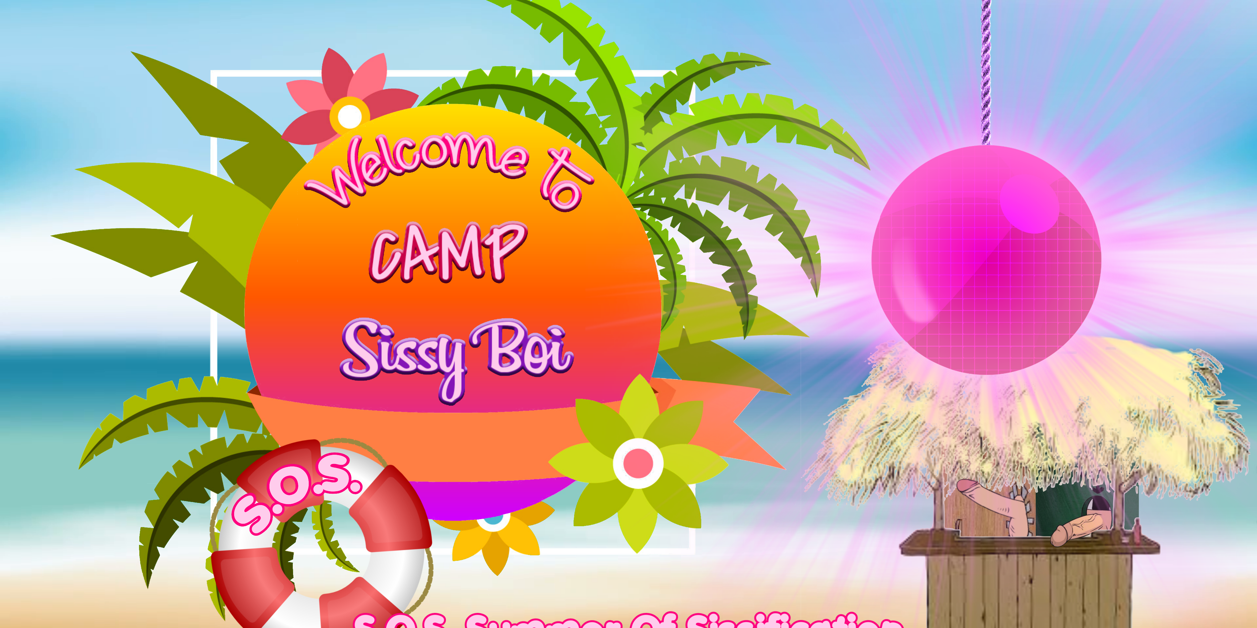 Banner with CampSissyBoi